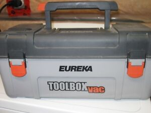 CAR VACUUM AND TOOL BOX - ALL IN ONE