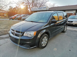 2012 DODGE GRAND CARAVAN ,STOW AND GO, SAFETY AND E-TESTED