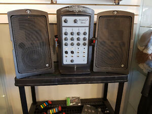 """sold""  Fender Passport 150 PRO Portable PA System"
