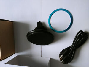 Car mount and charger 2 in 1 led lights