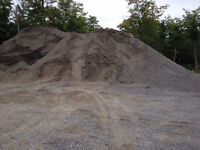Sand, Clean Fill, Gravel - FOR SALE