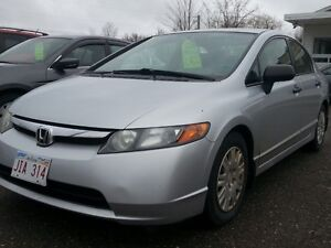 (((SPECIAL OF THE WEEK REDUCED)))) 2008 HONDA CIVIC 5SPEED