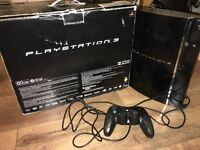 PS3 boxed in nice condition. Sale or swaps