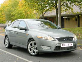 2007 07 Ford Mondeo 1.8 TDCi Titanium X 5dr WITH F/S/H+1/2 LEATHER+SATNAV