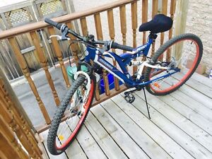 Sporting bicycle of mountain