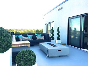 2.5 Bedrooms Luxury Condo for Rent with Roof Terrace