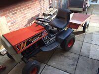 Garden Tractor and Trailer