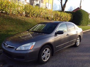 **URGENT**  2007 Honda Accord EX-L