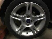 """Fiesta Zetec S wheels 16"""" 4x108 + tires"""