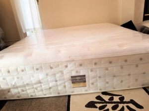 Thick Serta Elite Euro Top New King Bed + Free Box