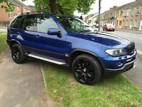 2005 55 BMW X5 3.0d autoLe Mans Blue Sport Edition 5DOOR