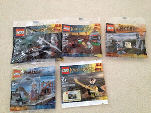 Lego Lord of The Rings and The Hobbit Polybags BNIB