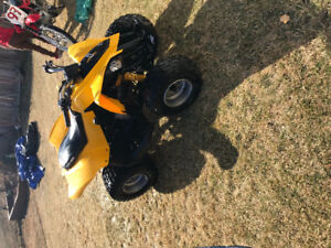 2015 bought new in 2016 kids 90DS cam am automatic with reverse