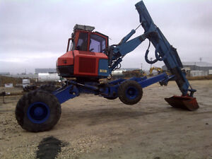 Kaiser X4M TURBOSTAR Walking) Excavator - Rock Grapple Extra