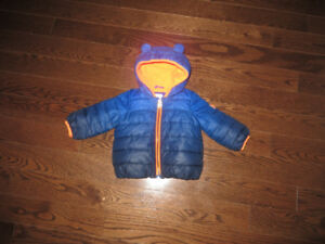 Baby GAP Primaloft Puffer Coat 6 - 12 months