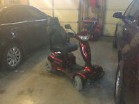 Electric 4 Wheeler Scooter for Seniors