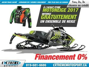 2017 Arctic Cat XF 8000 CROSS COUNTRY LIMITED ES (137) 45,41$/SE
