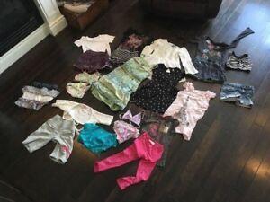 Sac linge fille /girl cloths bag