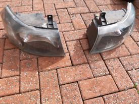 Ford Transit front headlights 2003