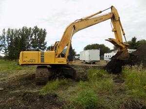 ecavation/demolition/dump truck/basement digging