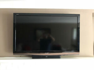 "SHARP Aquos 52"" 1080p LCD TV"