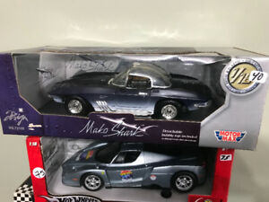 Chevrolet Corvette mako shark 1961 diecast 1/18 die cast