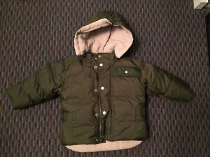 GAP Toddler's DOWN Overall Snow Pants Jacket, 18M, LIKE NEW!