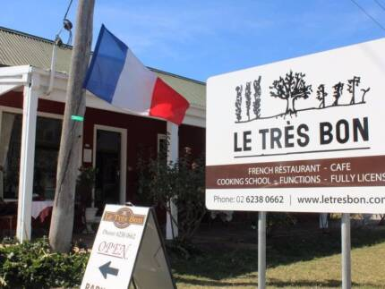 Gift certificate for cooking class at Le Tres Bon in Bungendore