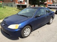 2003 Honda Civic...2-prts, Automatique