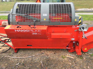 PRO 38 Firewood Processor NEW FROM HAKKI fastest in class