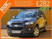 2012 Chevrolet Captiva 2.2 VCDI Turbo Diesel 184 BHP LT 6 Speed Auto 7-Seater Bl