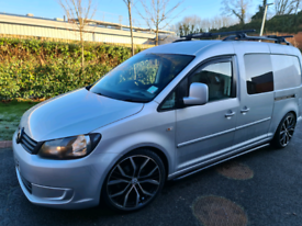 VW CADDY, CREW CAB. (+ VAT)
