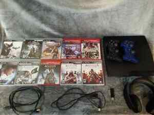 Just *REDUCED*  PS 3 console and game bundle $300.00 obo
