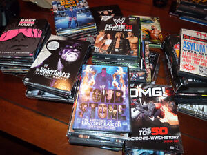 Large Wrestling DVD Collection