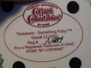 """Cottage Collectibles """"Sneakers-Something Fishy"""" Figurine London Ontario image 8"""