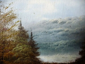 """Original Oil Painting by Phillip Cantrell """"Slow River Afternoon"""" Stratford Kitchener Area image 6"""