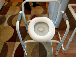 Commode chair NEW never used