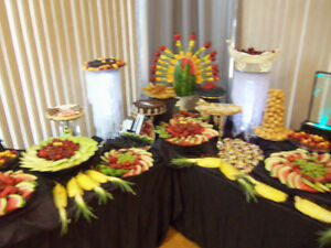 Wedding Cake, Hall decorations ,fruit and dessert table Windsor Region Ontario image 4