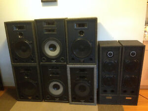 Acoustic Response and Paragon professional Speakers 250Watts