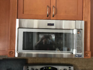 2.0 CU. FT Stainless Steel Over-The-Range Microwave