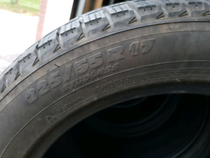 225/55R 17 Winter Tires