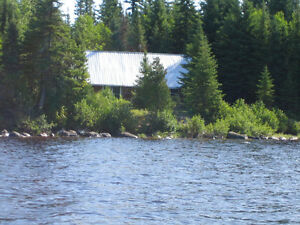 Northern Ontario Fishing and Hunting Log cabin.