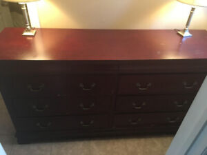 Cherry Wood Dresser Drawer For Sale (6x Drawers) ...