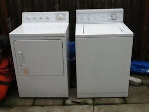G E DRYER  & KENMORE WASHER