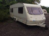 Elddis 1996 5 berth in good condition