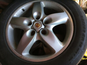 Porsche Cayenne Tires with Rim Used