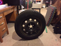 General Altimax Artic Winter Tires and rims with sensors