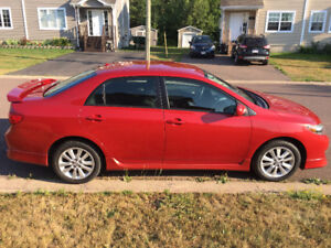 2009 Toyota Corolla S Sedan - Lady driven, clean, winter tires
