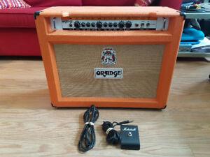 Combo Orange Rockerverb MKII 50 watts 2x12