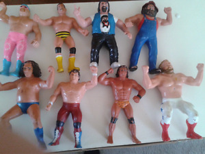 8 WWF Wrestlers for Sale